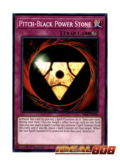 Pitch-Black Power Stone - SR08-EN036 - Common - 1st Edition