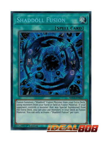 Shaddoll Fusion - SHVA-EN057 - Secret Rare - 1st Edition