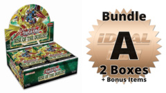 Rise of the Duelist Bundle (A) - Get 2x Booster Boxes + Bonus Items * PRE-ORDER Ships Aug.07