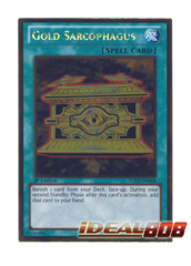 Gold Sarcophagus - PGLD-EN068 - Gold Rare - 1st Edition
