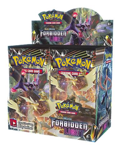 SM Sun & Moon - Forbidden Light (SM06) Pokemon Booster Box [36 Packs]