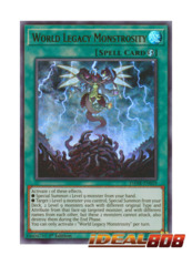 World Legacy Monstrosity - DANE-EN059 - Ultra Rare - 1st Edition