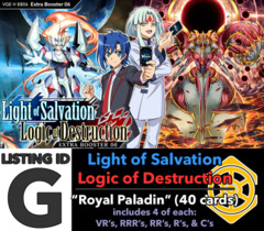 # Light-Salvation, Logic-Destruction [V-EB06 ID (G)]