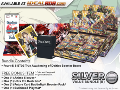 BFE-S-BT03  Bundle (B) Silver - Get x4 True Awakening of Deities Booster Box + FREE Bonus Items