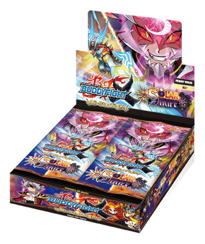 BFE-X2-BT01A Solar Strife (English) Future Card Buddyfight X Booster Box