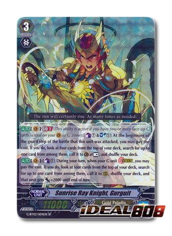 Sunrise Ray Knight, Gurguit - G-BT03/S04EN - SP