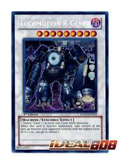 Locomotion R-Genex - HA03-EN029 - Secret Rare - 1st Edition