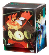 Pokemon Black & White Deck Box - Emboar, Serperior, Samurott