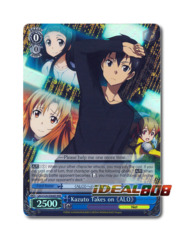Kirito Takes on 《ALO》 [SAO/S26-E064R RRR (FOIL)] English