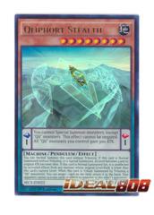 Qliphort Stealth - SECE-EN022 - Ultra Rare - 1st Edition