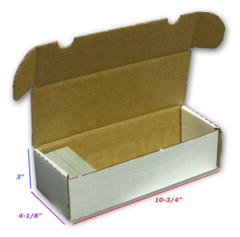 BCW  550 Storage Box - White (1-BX-550)