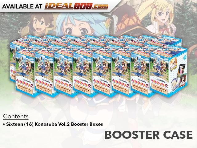 Weiss Schwarz Konosuba 2 Sealed Booster Box English WS Out of Print