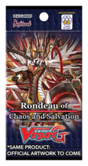 CFV-G-CB06 Rondeau of Chaos and Salvation (English) Cardfight Vanguard G-Clan Booster Pack