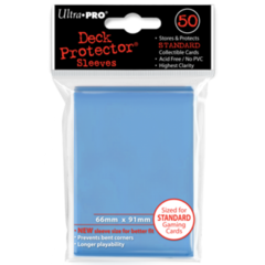 Ultra Pro Large Sleeves 50ct. - Light/Sky Blue (#82677)