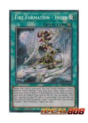 Fire Formation - Ingen - FIGA-EN020 - Secret Rare - 1st Edition