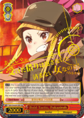 Bold Tactic, Fukaziroh [GGO/S59-E041GGR GGR (Gun Gale SIGNED FOIL)] English