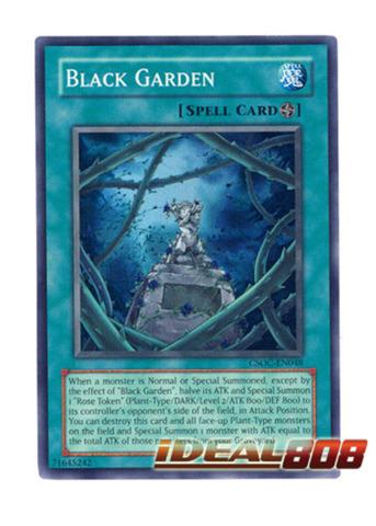 CSOC-EN048 Super Rare 3 Available Yugioh Black Garden