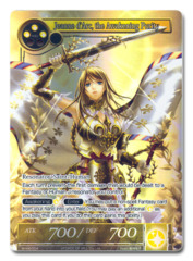 Jeanne d'Arc, the Awakening Purity (FULL ART) - WORLD-004 - PR