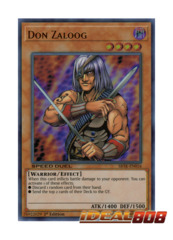 Don Zaloog - SBTK-EN016 - Ultra Rare - 1st Edition