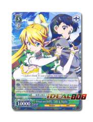 Virtual and Reality, Leafa & Suguha [SAO/S26-E022 RR] English