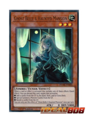 Ghost Belle & Haunted Mansion (Alternate Art) - DUDE-EN004 - Ultra Rare - 1st Edition