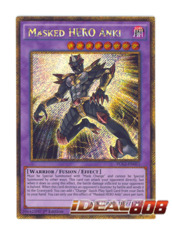 Masked HERO Anki - PGL2-EN011 - Gold Secret Rare - 1st Edition