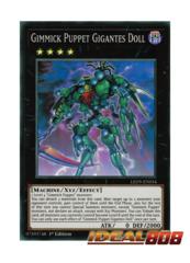 Gimmick Puppet Gigantes Doll - LED5-EN034 - Super Rare - 1st Edition