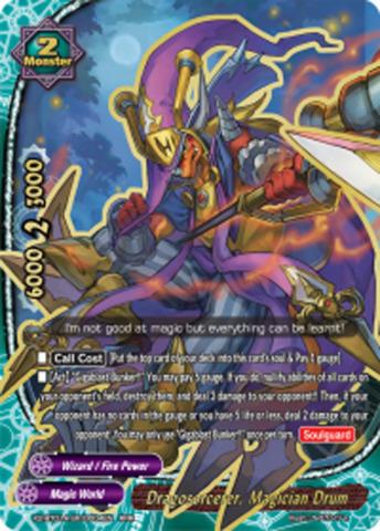 Dragoscorcerer, Magician Drum [X2-BT01A-SP/0004EN RRR (FOIL)] English