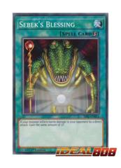 Sebek's Blessing - SS01-ENB14 - Common - 1st Edition