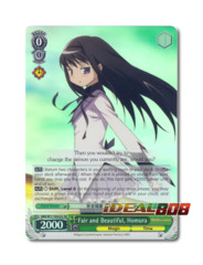 Fair and Beautiful, Homura [MM/W17-E023S SR (FOIL)] English