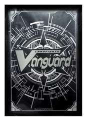 Bushiroad Cardfight!! Vanguard Sleeve Collection (53ct) Traditional Logo - Silver