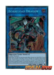 Borreload Dragon - MP18-EN131 - Secret Rare - 1st Edition