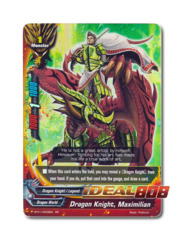 Dragon Knight, Maximilian - BT01/0009EN (RR) Double Rare