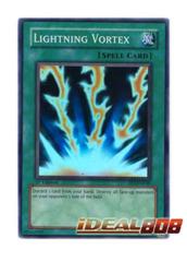 Lightning Vortex - FET-EN040 - Super Rare - 1st Edition