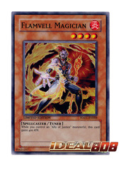 Flamvell Magician - HA01-EN008 - Super Rare - Limited