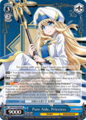 Pure Aide, Priestess [GBS/S63-E064 RR (Mosaic Gloss)] English