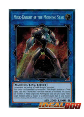 Mekk-Knight of the Morning Star - CYHO-EN045 - Secret Rare - 1st Edition