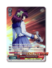 Strategic Provocation, Yuri [AB/W31-E056R RRR (FOIL)] English