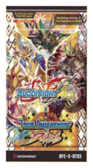 BFE-S-BT03 True Awakening of Deities (English) Future Card Buddyfight Ace Booster Pack
