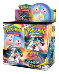 SM Sun & Moon - Cosmic Eclipse (SM12) Pokemon Booster Box [36 Packs] * PRE-ORDER Ships Nov.01