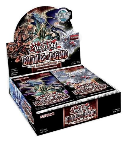 Battles of Legend: Armageddon (1st Edition) Booster Box [24 Packs]