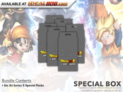 DBS-SP05 Series 5 (English) Dragon Ball Super Special Pack Set Box [Contains 6 Series 5 Sets] * PRE-ORDER Ships Nov.09