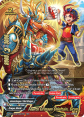 Fourth Crimson Chieftain, Drum [X2-BT01A-SP/0007EN RRR (FOIL)] English