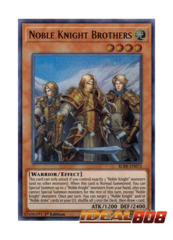 Noble Knight Brothers - BLRR-EN072 - Ultra Rare - 1st Edition