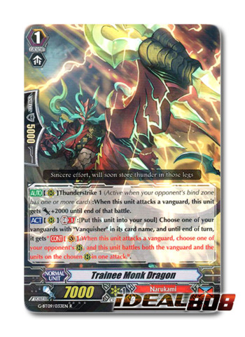 Trainee Monk Dragon - G-BT09/033EN - R