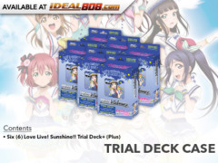 Love Live! Sunshine!! (English) Weiss Schwarz Trial Deck+  Box [Contains 6 Decks]