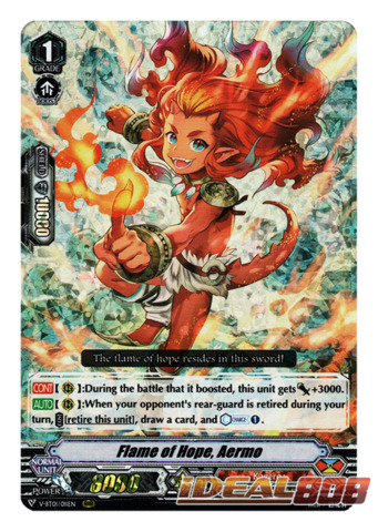 Flame of Hope, Aermo - V-BT01/011EN - RRR
