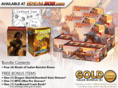 MTGRIX Bundle (B) Gold - Get x4 Rivals of Ixalan Booster Box + FREE Bonus Items * PRE-ORDER Ships Jan.19