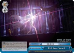 Red Rose Sword [SAO/S65-E097R RRR (TEXTURED FOIL)] English