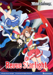 Revue Starlight (English) Weiss Schwarz Booster  Case [16 Boxes]